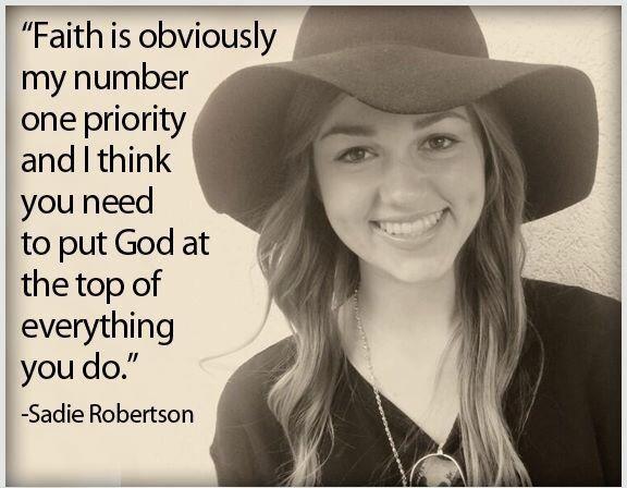 Sadie Robertson quote