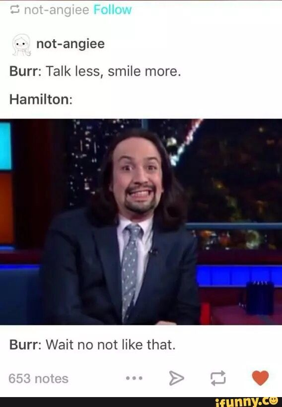 I still think Lin Manuel-Miranda is a gorgeous gift, esp with this goofy expression.