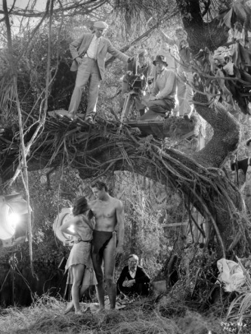 What I saw from BW TV in early years :) Tarzan - Johnny Weissmuller, Maureen O'Sullivan and W.S. Van Dyke: Tarzan The Ape Man, 1932