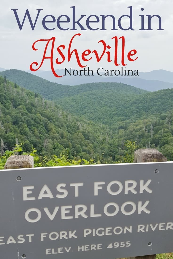 How to Spend a Weekend in Asheville North Carolina. There is plenty to see and do either as a family or as a couple's getaway in this beautiful city on the Blue Ridge Parkway!