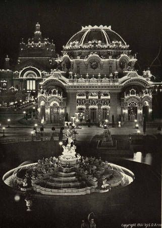Temple of Music, Pan-American Exposition, from1901 Pan-Am Music Images, Digital Collections, University at Buffalo Libraries