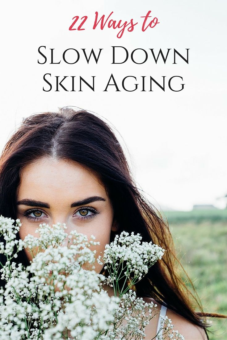 Skin aging is a natural process; however, the truth is that we often help our skin with premature aging. We cannot stop the process, but we can slow it down. #skincare #skinaging #healthtips #naturalskincare #beauty #health