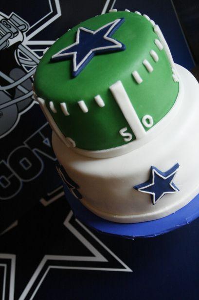 cowboys football birthday cakes   Dallas Cowboys Football Cake   for cake sake blog