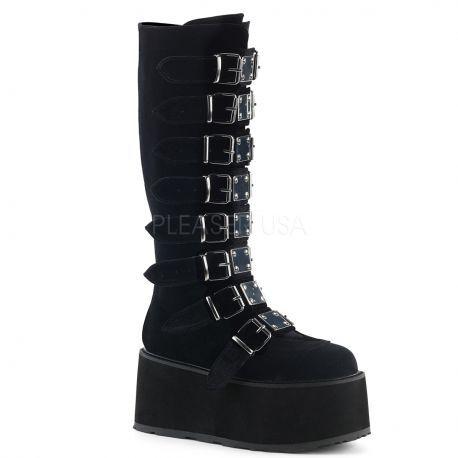 http://www.lenceriamericana.com/calzado-sexy-de-plataforma/40137-botas-goticas-demonia-de-plataforma-continua-terciopelo-nobuk-y-8-correas.html