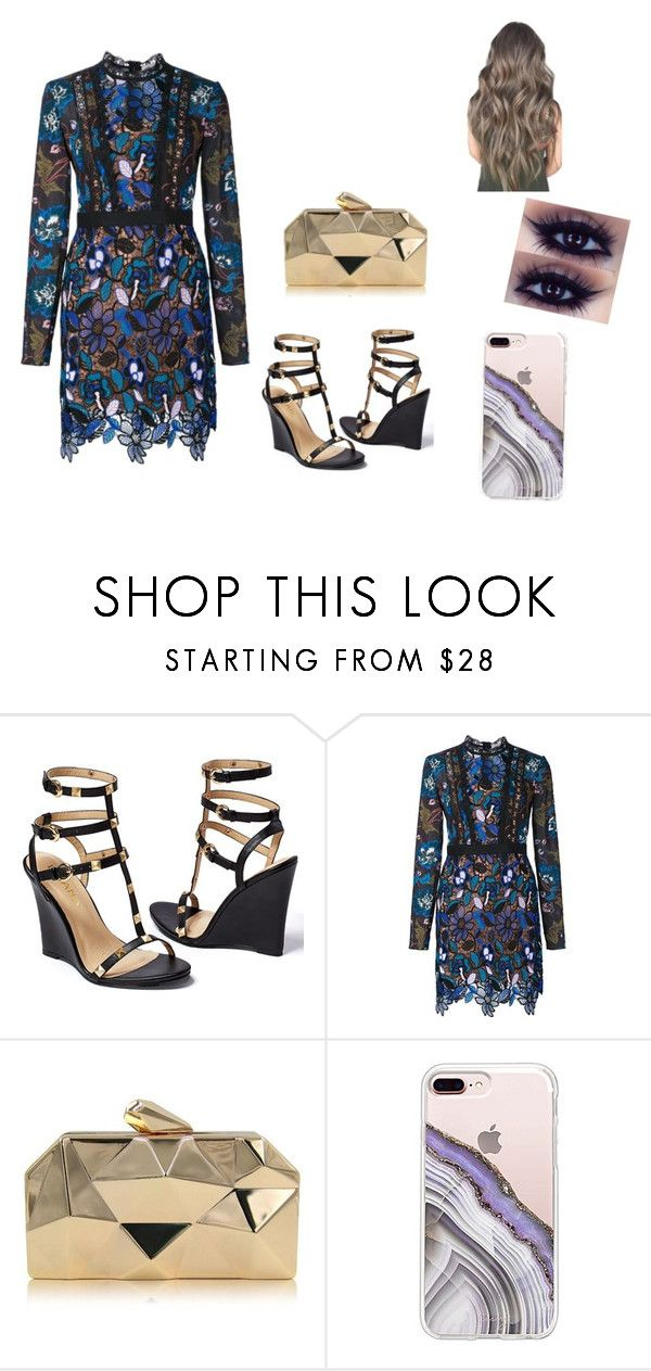 """"""".."""" by alexa78-1 on Polyvore featuring Venus, self-portrait and Steve Madden"""