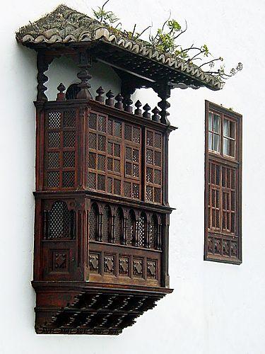 Balcones canarios, La Laguna. Tenerife