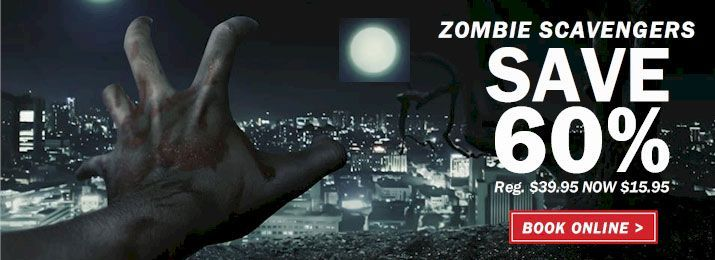 Great News You Can Now Play Zombie Scavengers At Home In Your Local Neighborhood Or 400 Cities In Usa Canada Games Zombie City Games Things To Do At Home