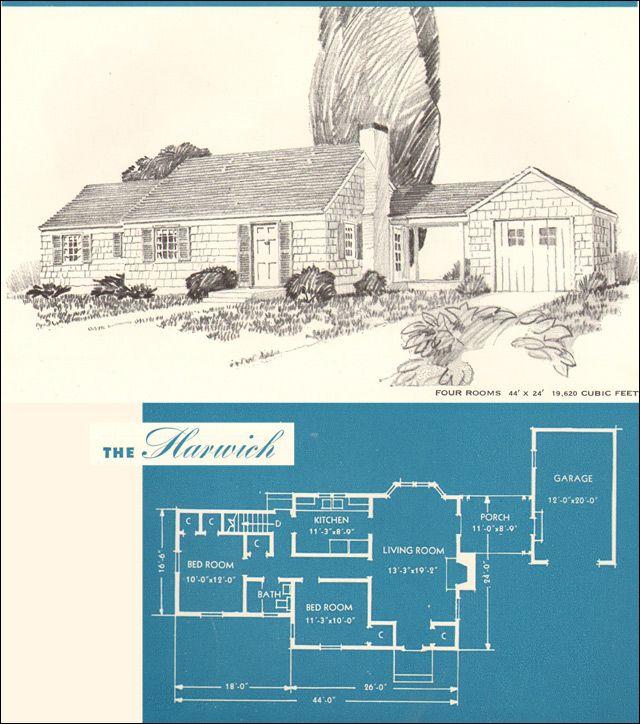 1945 New Era Houses - The Harwich
