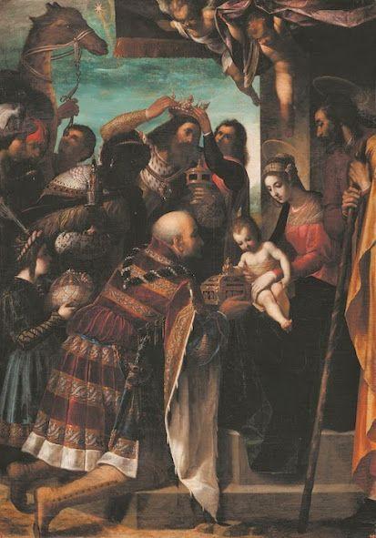 Adorazione dei Magi (1597; Firenze, Galleria Palatina di Palazzo Pitti)