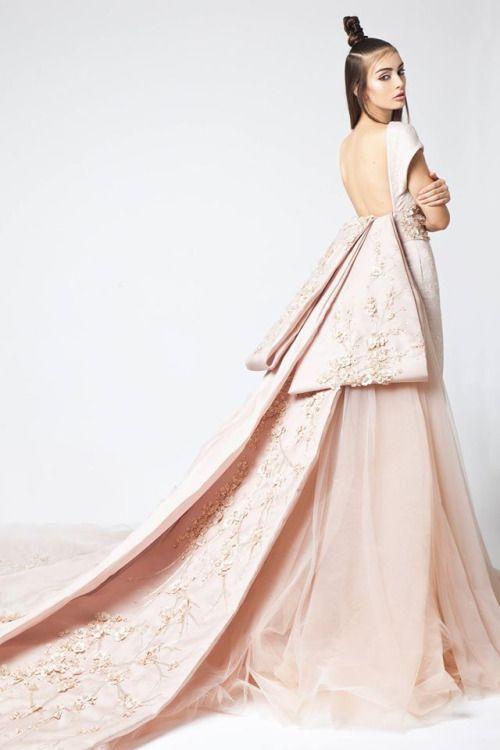 Elio Abou Fayssal Haute Couture Spring 2016, Sakura Collection.