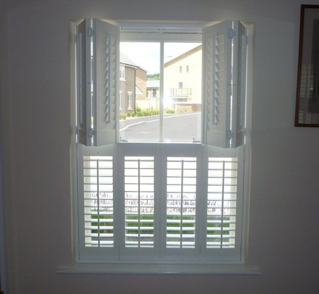 We Would Like The Shutters To Split In Half This So That Upper Can Remain Open And Lower Closed Retai