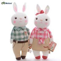 Плюшевые игрушки METOO Tiramissu клетчатые юбки кролик мультфильм куклы 12 '' нью-валентина любовник