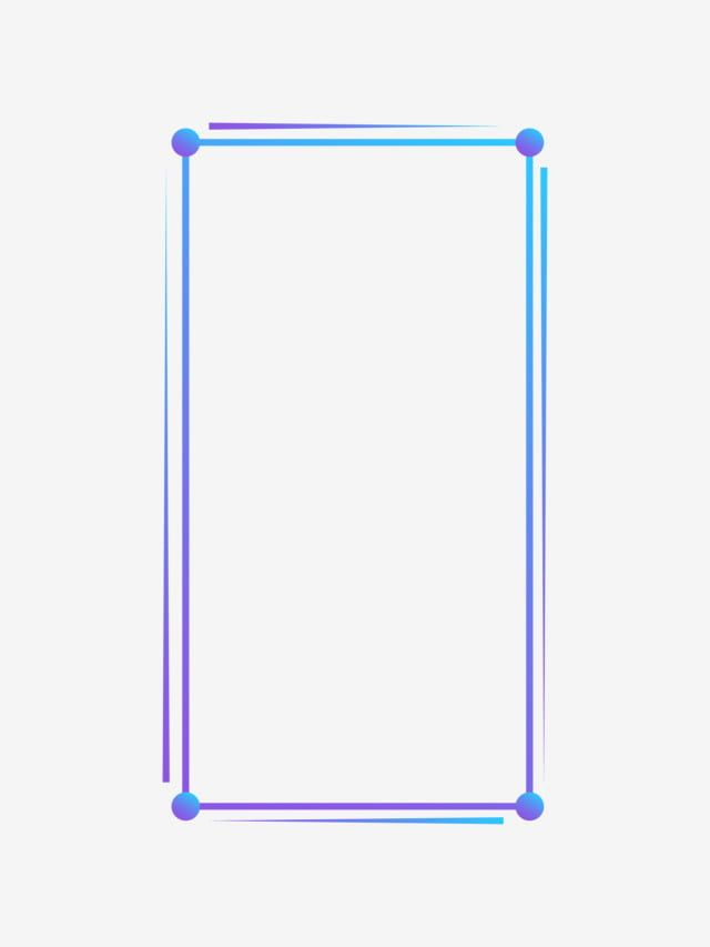 Blue Minimalist Lines Vertical Rectangle Poster Border Rectangle Clipart Color Decorative Png And Vector With Transparent Background For Free Download Colorful Borders Design Page Borders Design Flower Background Wallpaper