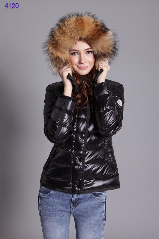 Moncler Woman Black Jacket