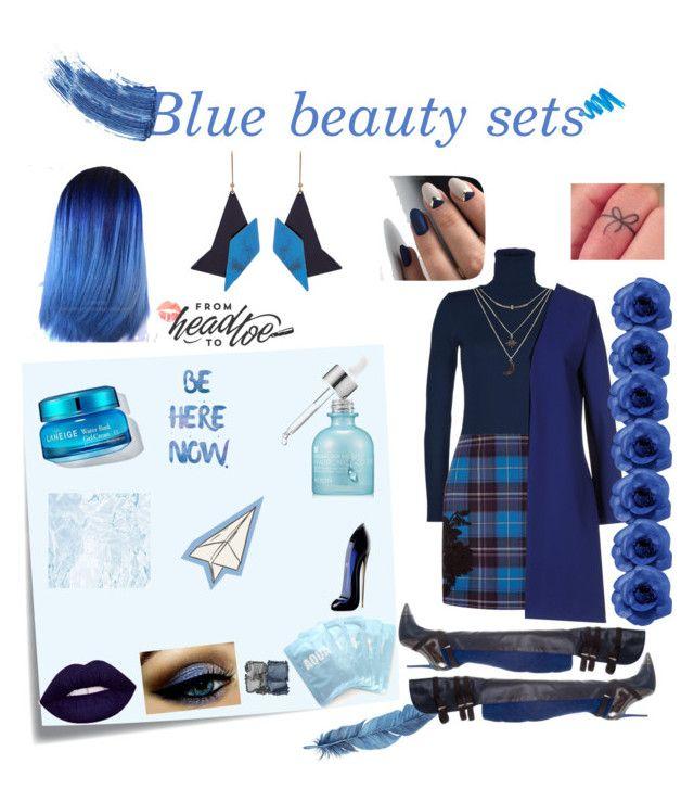 Blue Beauty sets by chantelle3798 on Polyvore featuring polyvore beauty Eyeko NARS Cosmetics L.A. Girl Carolina Herrera Lapcos SkinCare STELLA McCARTNEY Chanel Charlotte Russe Space Style Concept Christies à Porter La Perla Prabal Gurung Burke Decor Post-It bluebeautysets