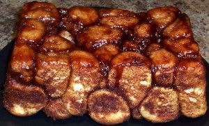 Weekend Breakfast Makeover – Cinnamon Monkey Bread