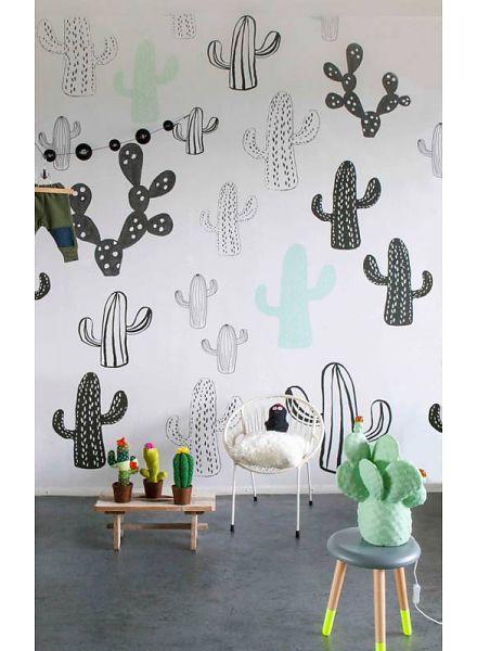 Onszelf Little OZP 3762 Poster / Papier Peint Cactus - 300x200cm - Onszelf