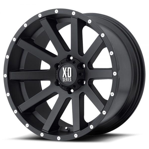 16 Xd Series Xd818 Heist Black Wheel 16 8 6 4 5 10mm Dodge Dakota 6 Lug Truck Wheel And Tire Packages Black Wheels Wheel Rims