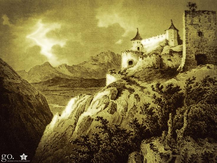 Cetatea Raşnov /  Ludwig Rohbock