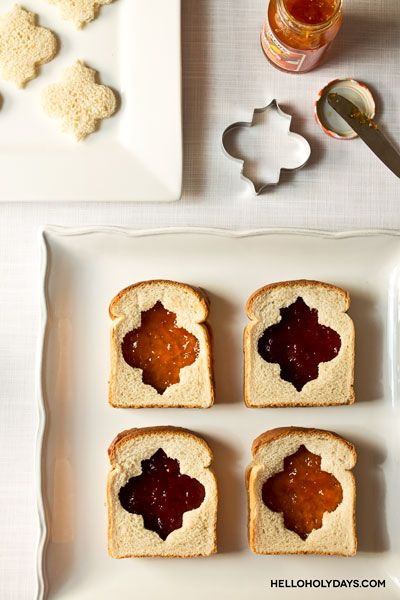 Ramadan lantern sandwiches using Hello Holy Days lantern cookie cutter. #ramadan #eid