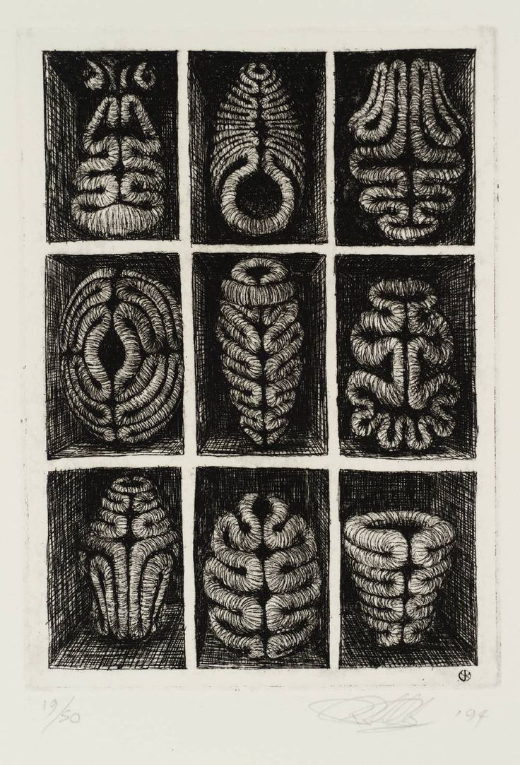 Peter Randall Page - A Place of One's Own. 1994, Print