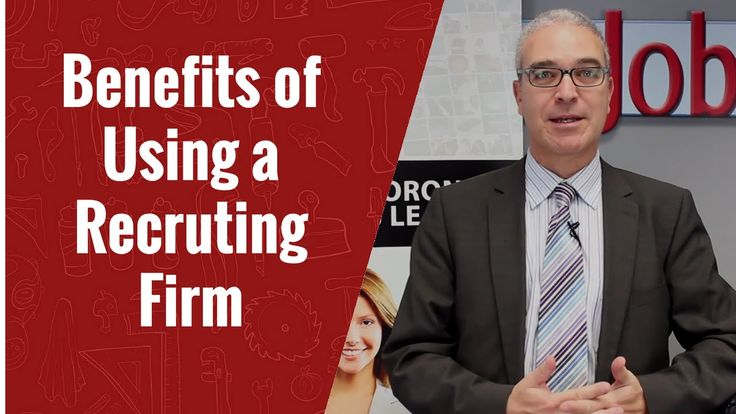 What are the Benefits of Using a Recruiting Firm