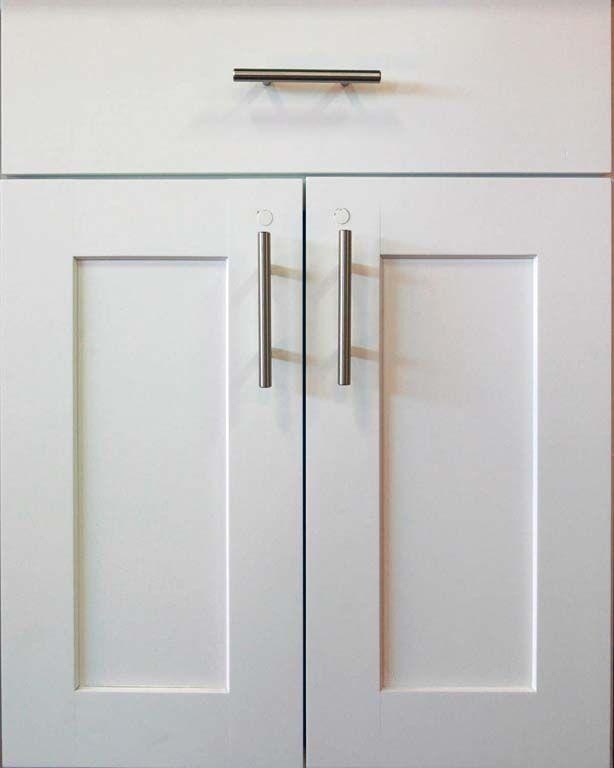 Gray Shaker Cabinet Doors
