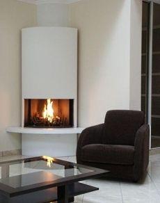 corner gas fireplace - Corner Gas Fireplace Design Ideas