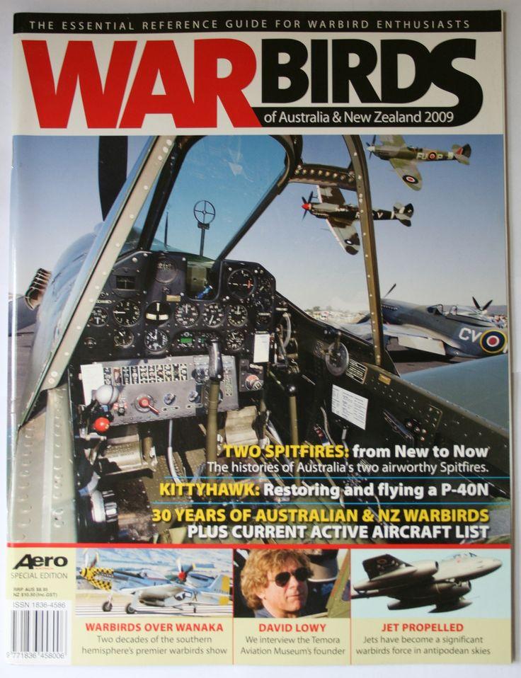 Defence Gifts - War Birds Australia New Zealand  2009, $14.95 (http://www.defencegifts.com.au/war-birds-australia-new-zealand-2009/)