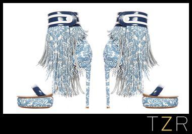 shake your tassels: Hot Shoes, Kirkwood Fringes, Shoes Fetish, Fringes Sandals, Fine Styles, Kirkwood Sandals, Discos Heels, Nicholas Kirkwood, Zoe Reports