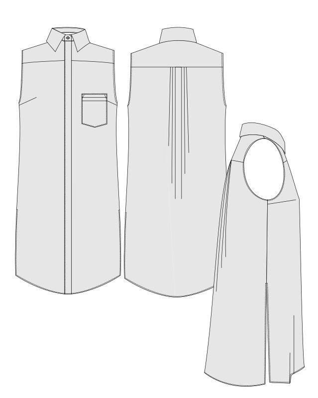 Rome Shirt - sewing pattern for women | Orageuse