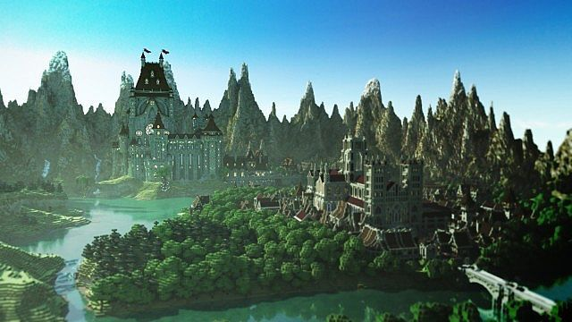 minecraft unbelievable shaders castle project | 6fb6b LEM Castle Map 2 LEM Castle Map Download