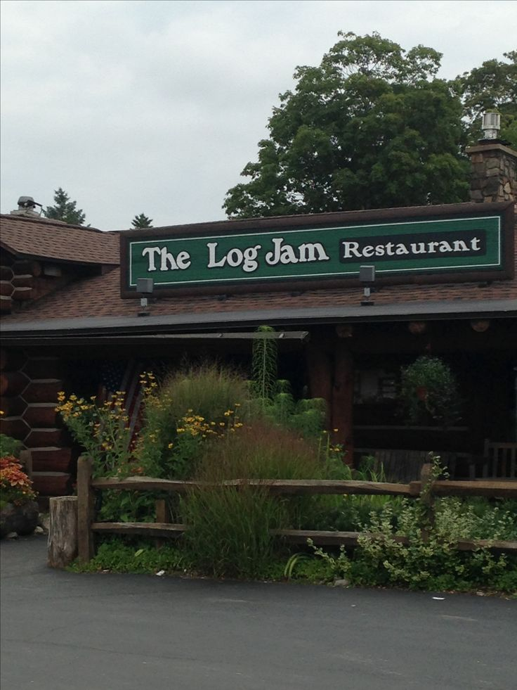 The Log Jam Restaurant: Lake George, New York. I can't believe it's still open! Loved the salad bar as a kid.