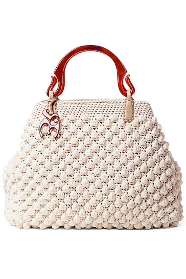 crochet bag - Love the handles