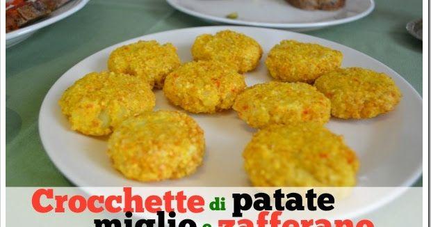 Mammarum: Crocchette di patate, miglio e zafferano