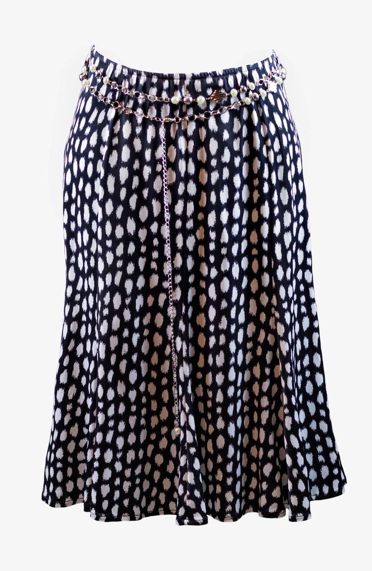 Knee Skirt Stamped