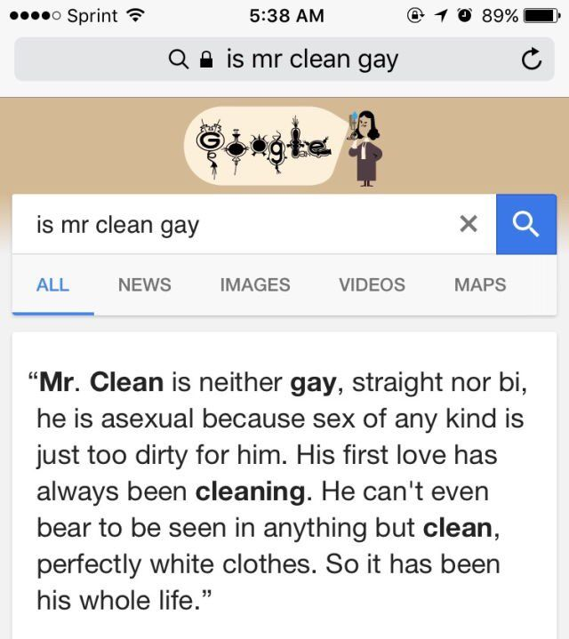 Is Mr. Clean gay?   http://ift.tt/2eCVoPX via /r/funny http://ift.tt/2esMmEy  funny pictures