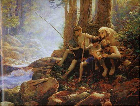 greg olsen art | Greg Olsen | Heritage Gallery Fine Art & Custom Framing