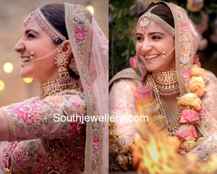 Anushka Sharma's Wedding Jewellery
