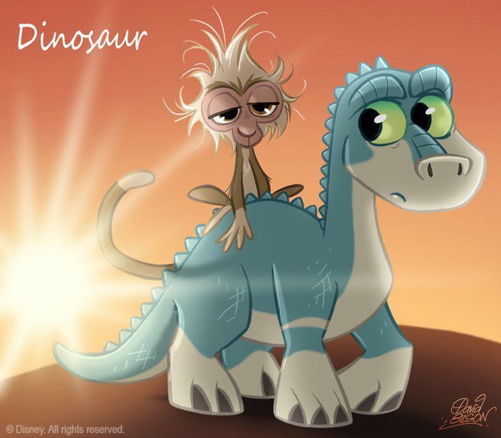 50 Chibis Disney : Dinosaur by *princekido on deviantART