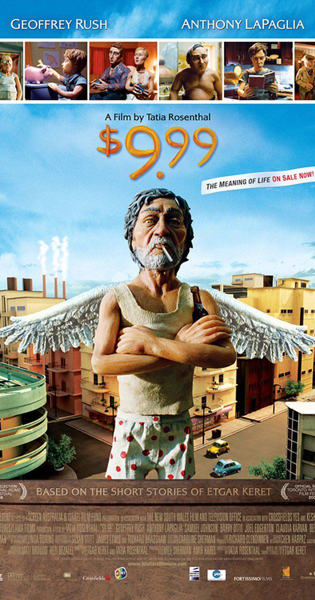 Directed by Tatia Rosenthal.  With Geoffrey Rush, Anthony LaPaglia, Samuel Johnson, Barry Otto. A stop-motion animated story about people living in a Sydney apartment complex looking for meaning in their lives. - Britain