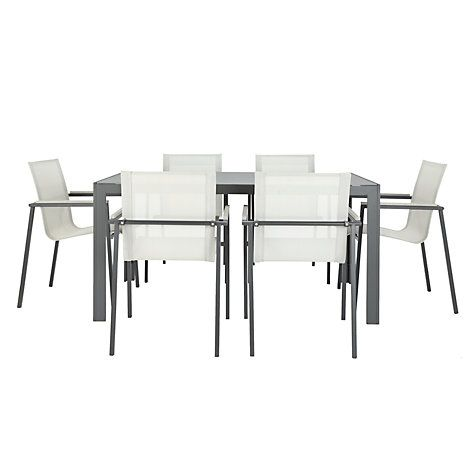 Buy John Lewis Maya 6-Seater Outdoor Dining Set Online at johnlewis.com £499
