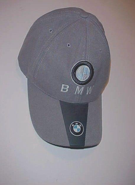 95485d5945c BMW Black   Gray Logo Baseball Cap 80% Cotton