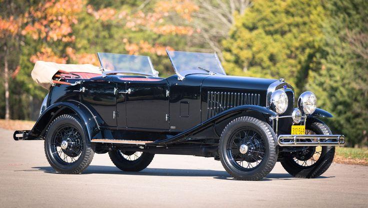 Edsel Ford's 1929 Model A Dual-cowl Phaeton