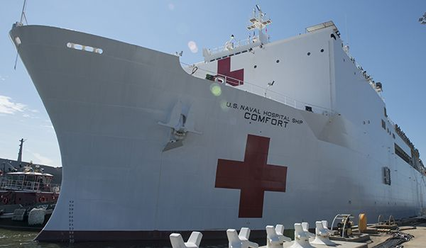 Since 2013, the Comfort's home port has been Naval Station Norfolk, Virginia.
