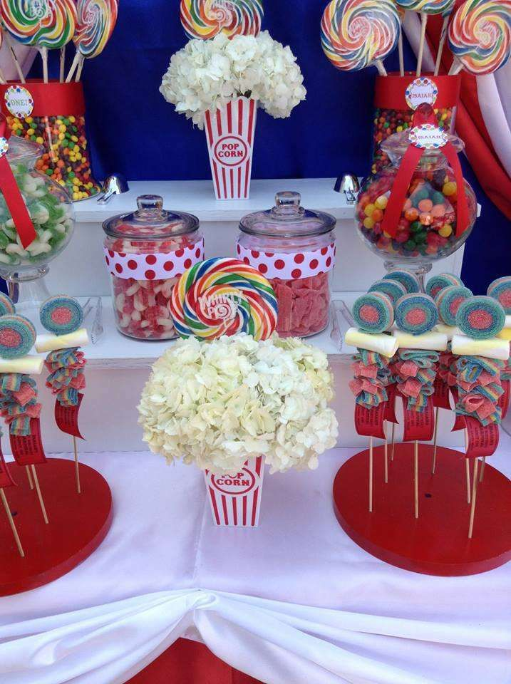 Circus Birthday Party Ideas | Photo 8 of 23 | Catch My Party