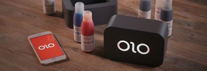 Impressora portátil OLO usa a luz da tela do smartphone para imprimir em 3D