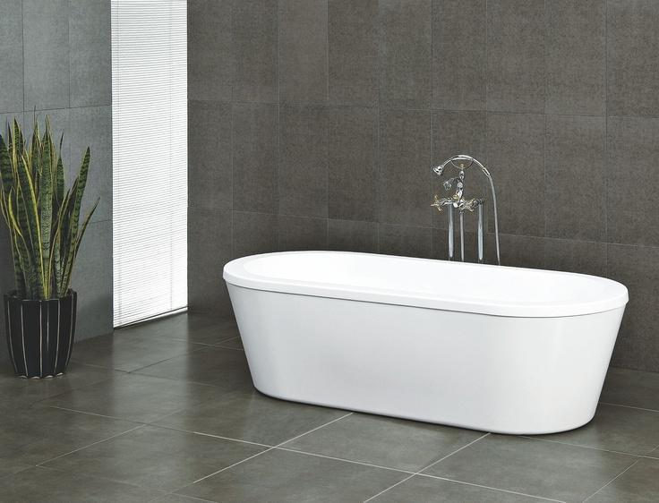 Kylpyamme Noro Avance 1770x790x545 mm akryyli valkoinen