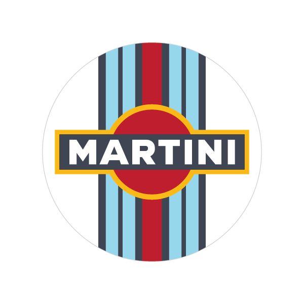 Porsche Logo Wallpaper: Martini Logo 01