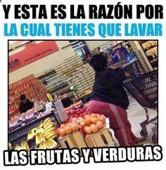 Las frutas y verduras ya no son lo mismo para mi... Al fin y al cabo ni me las comía
